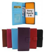billigamobilskydd.se New Jalusta Lompakkokotelo Sony Xperia 5 III (XQ-BQ52)