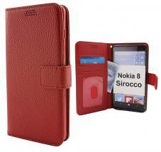 billigamobilskydd.se New Jalusta Lompakkokotelo Nokia 8 Sirocco