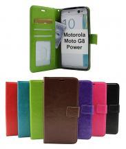 billigamobilskydd.se Crazy Horse Lompakko Motorola Moto G8 Power