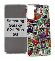 billigamobilskydd.se TPU-Designkotelo Samsung Galaxy S21 Plus 5G (G996B)