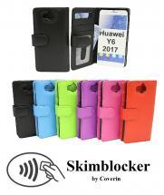 billigamobilskydd.se Skimblocker Lompakkokotelot Huawei Y6 2017 (MYA-L41)