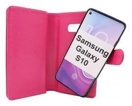 billigamobilskydd.se Crazy Horse XL Magnet Wallet Samsung Galaxy S10 (G973F)