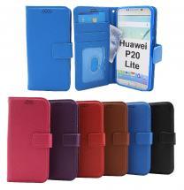 billigamobilskydd.se New Jalusta Lompakkokotelo Huawei P20 Lite (ANE-LX1)