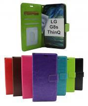 billigamobilskydd.se Crazy Horse Lompakko LG G8s ThinQ (LMG810)