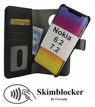 CoverIn Skimblocker Magneettilompakko Nokia 6.2 / 7.2