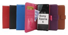 billigamobilskydd.se New Jalusta Lompakkokotelo Sony Xperia 5