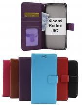 billigamobilskydd.se New Jalusta Lompakkokotelo Xiaomi Redmi 9C