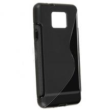 billigamobilskydd.se S-Line TPU-muovikotelo Samsung Galaxy S2 (i9100)