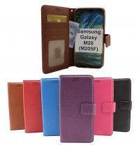 billigamobilskydd.se New Jalusta Lompakkokotelo Samsung Galaxy M20 (M205F)