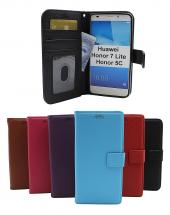 billigamobilskydd.se New Jalusta Lompakkokotelo Huawei Honor 7 Lite (NEM-L21)