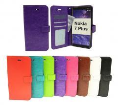 billigamobilskydd.se Crazy Horse Lompakko Nokia 7 Plus