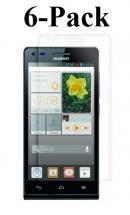 billigamobilskydd.se Kuuden kappaleen näytönsuojakalvopakett Huawei Ascend G6