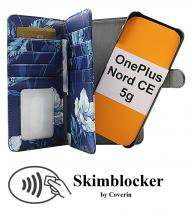 CoverIn Skimblocker XL Magnet Designwallet OnePlus Nord CE 5G