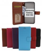 billigamobilskydd.se New Jalusta Lompakkokotelo Samsung Galaxy A52 / A52 5G / A52s 5G