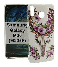 billigamobilskydd.se TPU-Designkotelo Samsung Galaxy M20 (M205F)