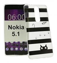 billigamobilskydd.se TPU-Designkotelo Nokia 5.1