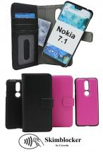 billigamobilskydd.se Skimblocker Magneettilompakko Nokia 7.1