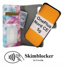 CoverIn Skimblocker Design Magneettilompakko OnePlus Nord CE 5G
