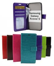 billigamobilskydd.se Crazy Horse Lompakko Samsung Galaxy Xcover 5 (SM-G525F)
