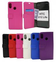 billigamobilskydd.se Jalusta Lompakkokotelo HTC U12 Life