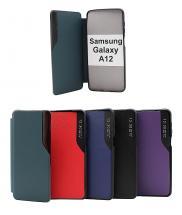 billigamobilskydd.se Smart Flip Cover Samsung Galaxy A12 (A125F/DS)