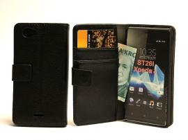 billigamobilskydd.se Lompakkokotelot Sony Xperia J (ST26i)