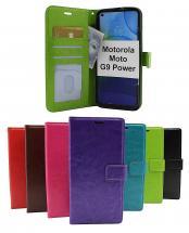 billigamobilskydd.se Crazy Horse Lompakko Motorola Moto G9 Power
