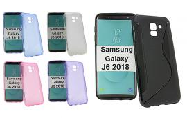 billigamobilskydd.se S-Line TPU-muovikotelo Samsung Galaxy J6 2018 (J600FN/DS)