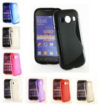 billigamobilskydd.se S-Line TPU-muovikotelo Samsung Galaxy Ace 4 (G357F)