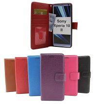billigamobilskydd.se New Jalusta Lompakkokotelo Sony Xperia 10 II (XQ-AU51 / XQ-AU52)