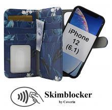 CoverIn Skimblocker XL Magnet Designwallet iPhone 12 (6.1)