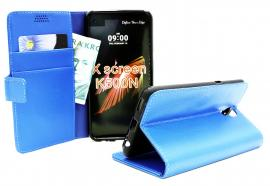billigamobilskydd.se Jalusta Lompakkokotelo LG X Screen (K500N)