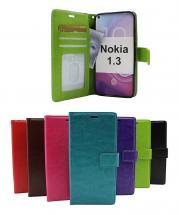 billigamobilskydd.se Crazy Horse Lompakko Nokia 1.3
