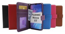 billigamobilskydd.se New Jalusta Lompakkokotelo Huawei Nova 5T