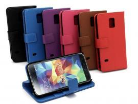 billigamobilskydd.se Jalusta Lompakkokotelo Samsung Galaxy S5 Mini (G800F)