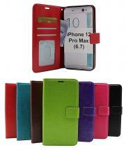 billigamobilskydd.se Crazy Horse Lompakko iPhone 12 Pro Max (6.7)