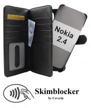 CoverIn Skimblocker XL Magnet Wallet Nokia 2.4