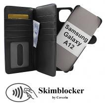CoverIn Skimblocker XL Magnet Wallet Samsung Galaxy A12