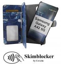 CoverIn Skimblocker XL Magnet Designwallet Samsung Galaxy A42 5G
