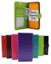 billigamobilskydd.se Crazy Horse Lompakko Sony Xperia 5 III (XQ-BQ52)
