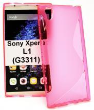 billigamobilskydd.se S-Line TPU-muovikotelo Sony Xperia L1 (G3311)