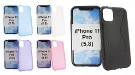 billigamobilskydd.se S-Line TPU-muovikotelo iPhone 11 Pro (5.8)