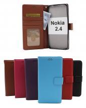 billigamobilskydd.se New Jalusta Lompakkokotelo Nokia 2.4