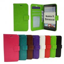 billigamobilskydd.se Crazy Horse Lompakko Nokia 8 Sirocco
