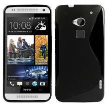billigamobilskydd.se S-Line TPU-muovikotelo HTC One Max (T6)