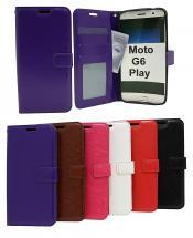 billigamobilskydd.se Crazy Horse Lompakko Motorola Moto G6 Play