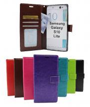 billigamobilskydd.se Crazy Horse Lompakko Samsung Galaxy S10 Lite (G770F)