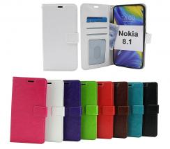 billigamobilskydd.se Crazy Horse Lompakko Nokia 8.1
