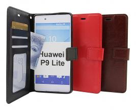 billigamobilskydd.se Crazy Horse Lompakko Huawei P9 Lite
