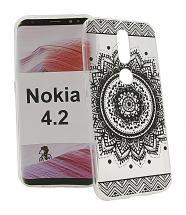 billigamobilskydd.se TPU-Designkotelo Nokia 4.2